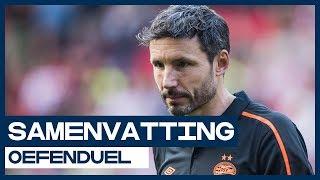 HIGHLIGHTS | PSV onderuit bij laatste test voor nieuwe seizoen