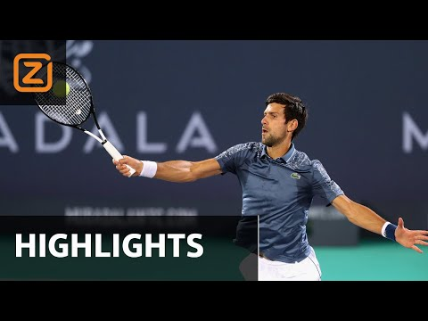 Djokovic vs Khachanov | Mubadala 2018 | Samenvatting