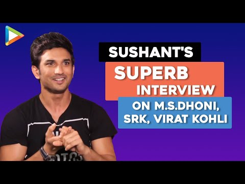 Sushant Singh Rajput   M.S.Dhoni - The Untold Story   Full Interview   Shah Rukh Khan   Virat Kohli