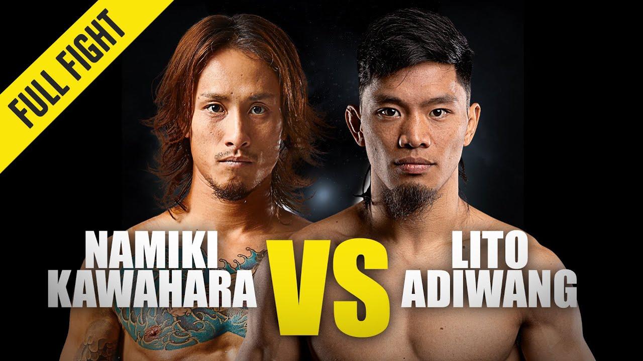 Namiki Kawahara vs. Lito Adiwang | ONE Championship Full Fight
