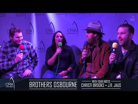 CMA 2018 Interview with BROTHERS OSBORNE