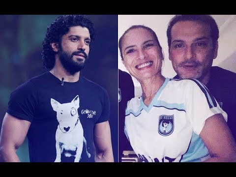 Farhan Akhtar Comments On ExWife Adhuna's Picture With Her Boyfriend  SpotboyE