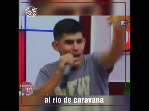 EL HIT DE LA SERENATA A CAFAYATE LLEGÓ A LA TV SALTEÑA