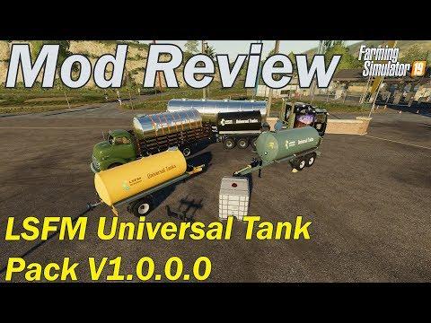 Mod Review - LSFM Universal Tank Pack V1.0.0.0