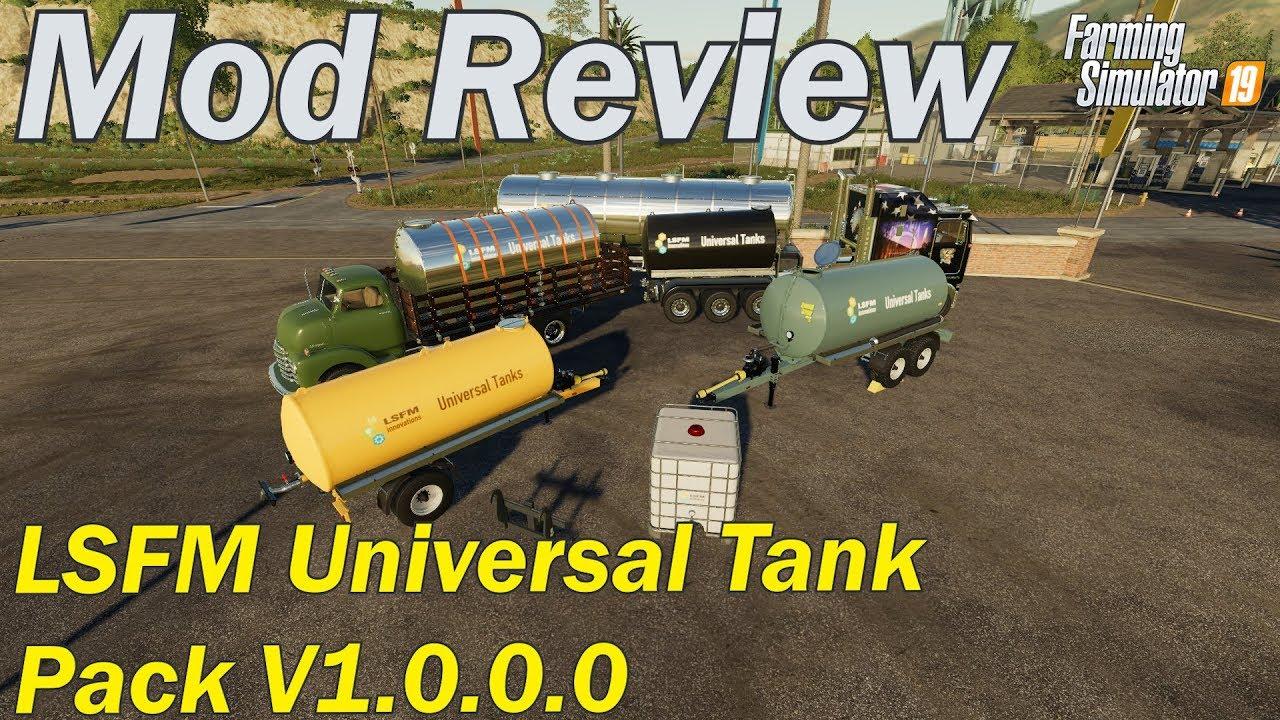 Mod Review - LSFM Universal Tank Pack V1 0 0 0 by Farmer Klein