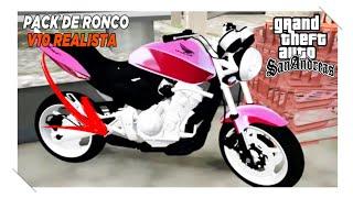 PACK DE RONCOS REALISTA V10 (GTA SA ANDROID)✔