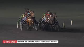 Vidéo de la course PMU PRIX FELICITAS