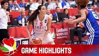 Serbia v France - Game Highlights - Final - EuroBasket Women 2015