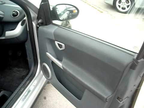 Car Remote Key >> SMART FORFOUR 1.1 2006 - YouTube