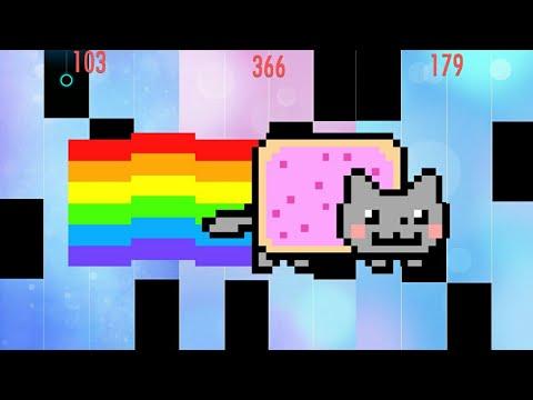 Nyan Cat In Piano Tiles 2 !!!