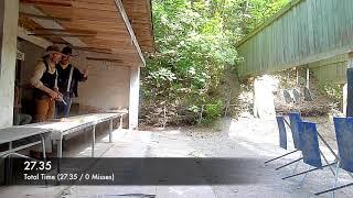 Cowboy Action Shooting (Westernschießen) mit CO2 Waffen - Das Match 16.06.18