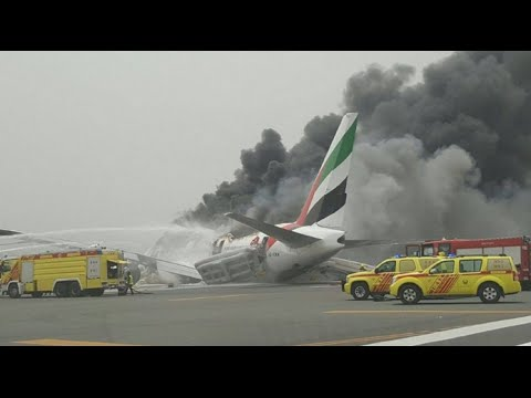 NEW Emirates 521 Crash ATC Communications (with subtitles)