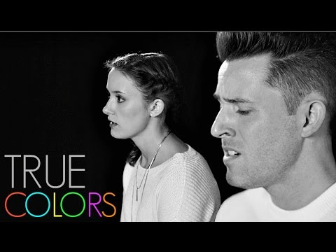 True Colors  Joshua David Evans & Erin Elyse Evans  BrotherSister Duet