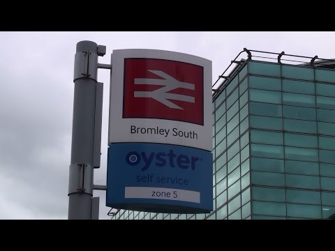 Underground & Overground - Bromley North & Bromley South Train Stations.Bromley, Greater London UK