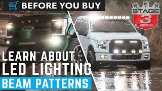 Before You Buy: Off-Road LED Lighting Beam Patterns