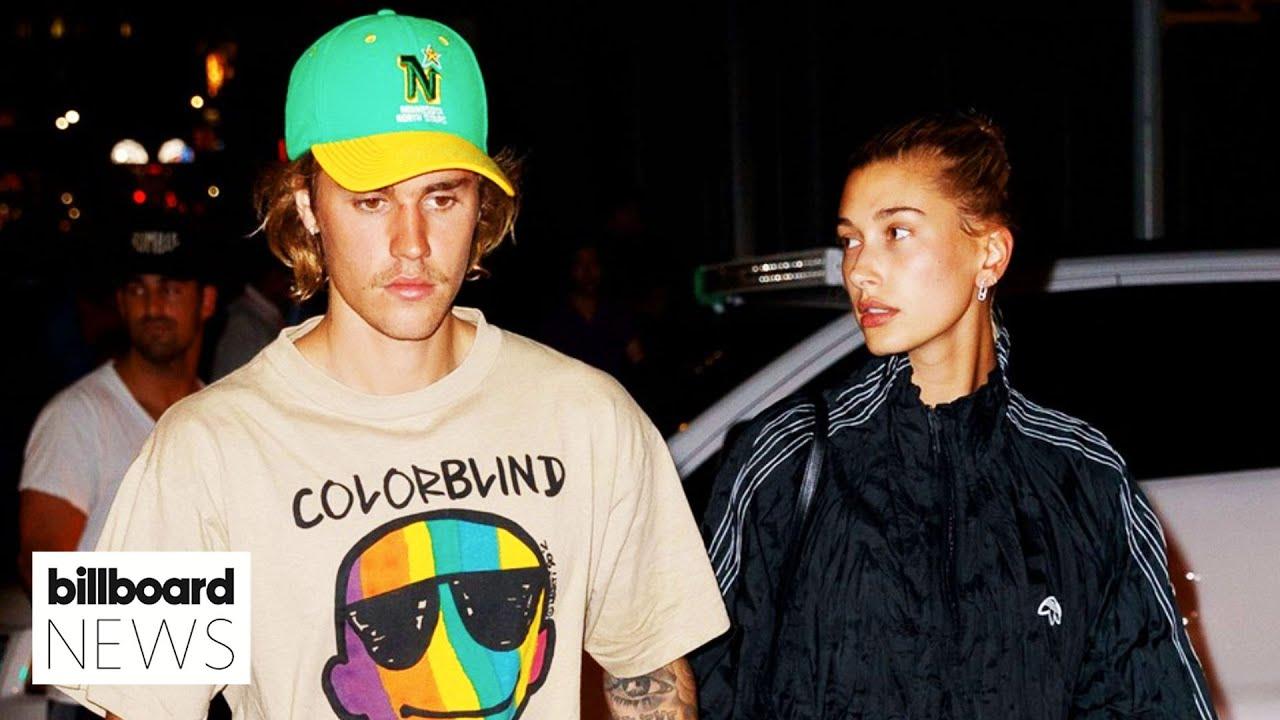 "Hailey Bieber Shuts Down Pregnancy Rumors & Clarifies Justin's ""Mom & Dad"" Caption | Billboard News"