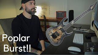 Solar Guitars S1.6 ET LTD Poplar Burst Review!
