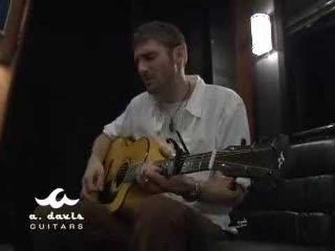 "Crosby Loggins - ""Always Catching Up"" on an A. Davis Guitar"