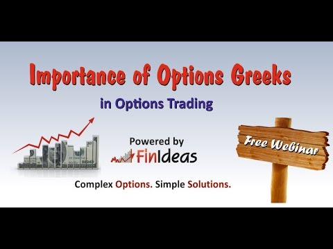 Importance of Options Greeks | Free Webinar | FinIdeas - By Govind Jhawar