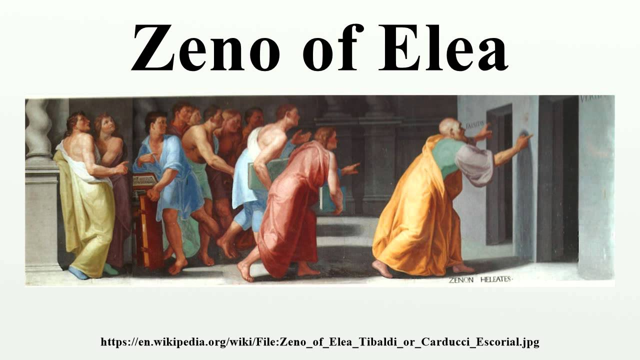 zeno of elea essay Zeno of elea (c465 bce) was a greek philosopher of the eleatic school and a student of the elder philosopher parmenides (an older little is known of zeno's life outside of his association with the eleatic school founded by parmenides parmenides argued against the validity of our senses and the.