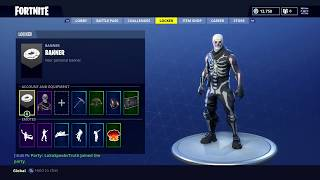 Selling My Fortnite Account w/ Skull Trooper and more! 30+ Skins