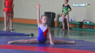 В Керчи соревнуются гимнасты Крыма