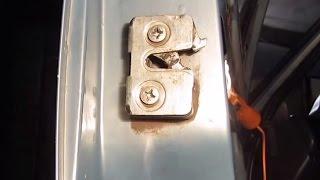 Замена замка двери наружного и внутреннего на ВАЗ 2110, 2111 и 2112