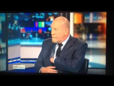 RTÉ News: Phone goes off during interview