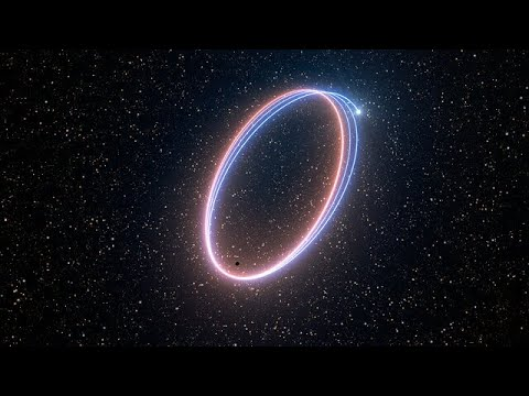 Artist's Animation Of S2's Precession Effect