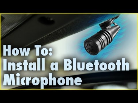 Install a Bluetooth Microphone (Car Stereo Accessory) | Car ...