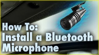How to Install a Bluetooth Microphone (Car Stereo Accessory) | Car Audio 101