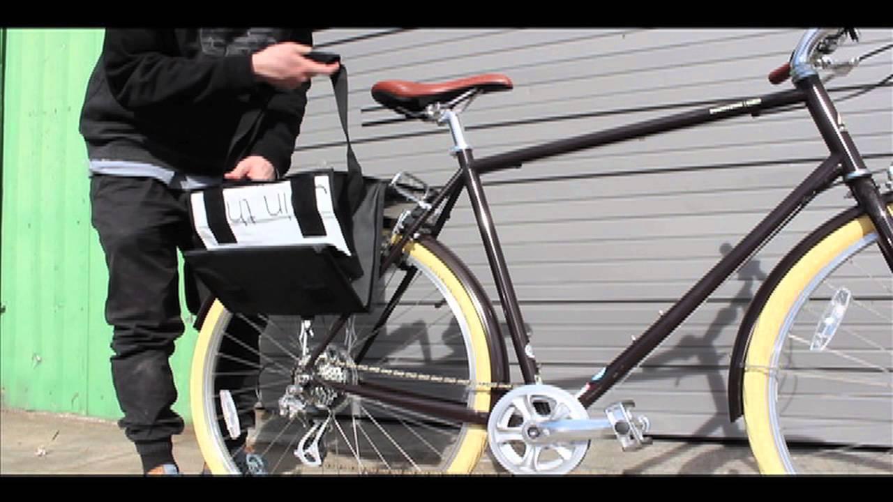 Green Guru Dutchy Bike Pannier - YouTube 889a7372d