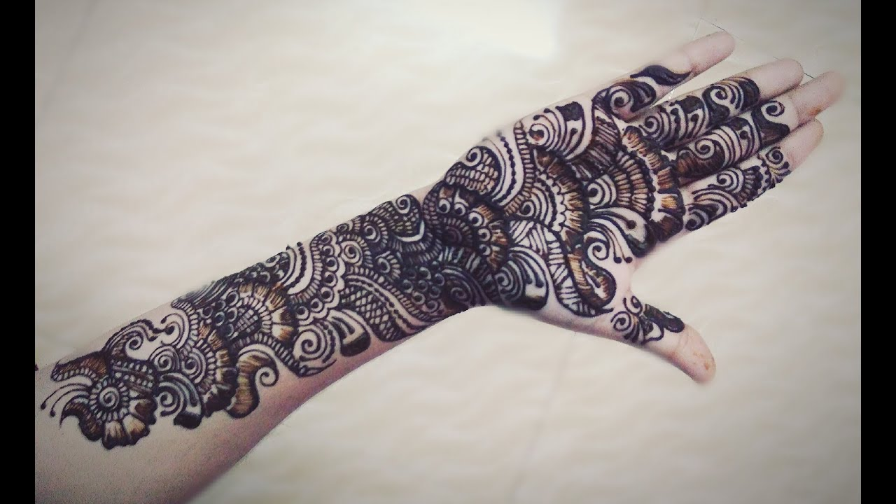 Mehndi For Teej : Bridal mehndi design for karwachauth teej diwali