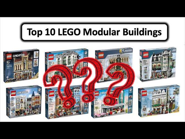 TOP 10 lego Modular Buildings - Meine Meinung