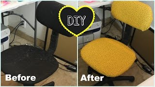 Diy Chair Makeover - Diy Mini Home Decor Project