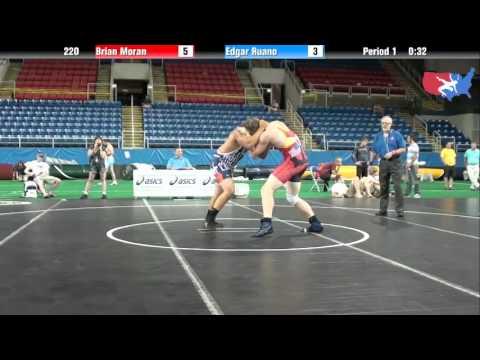 Fargo 2012 220 Round 4: Brian Moran (Michigan) vs. Edgar Ruano (Illinois)