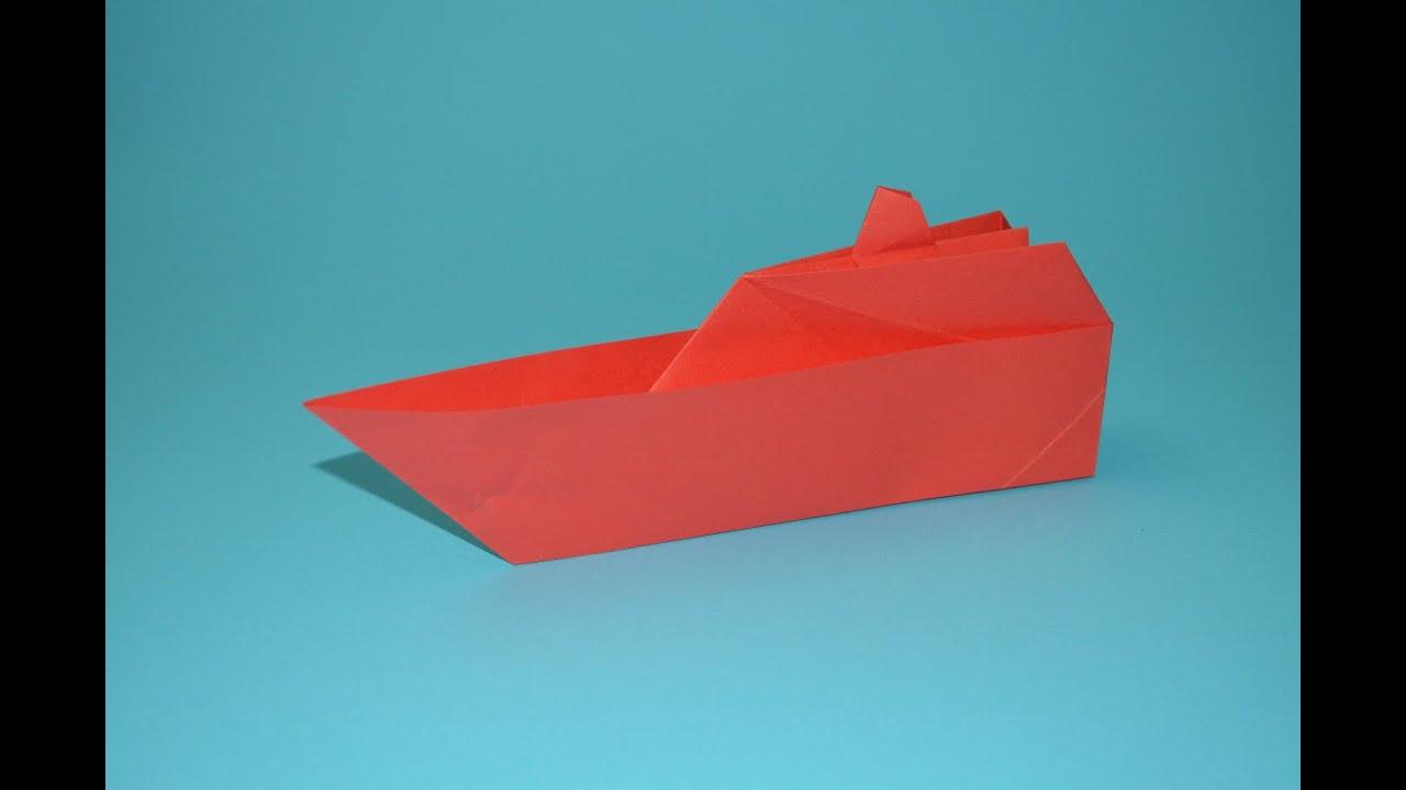 como hacer un barco de papel origami - YouTube