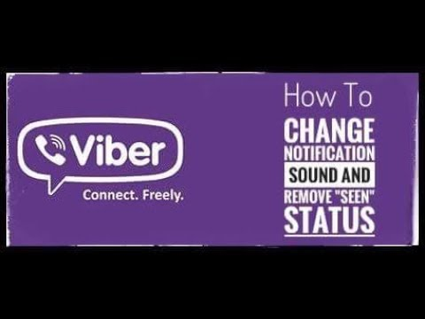 How to Change Viber Notification Sound and Remove