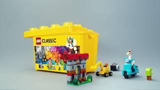 LEGO 10698 Classic Large Creative Brick Box Toy- Smyths Toys