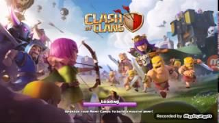 Primul meu episod cu Clash of Clans.Ma ataca cei de lvl cel mai mare!