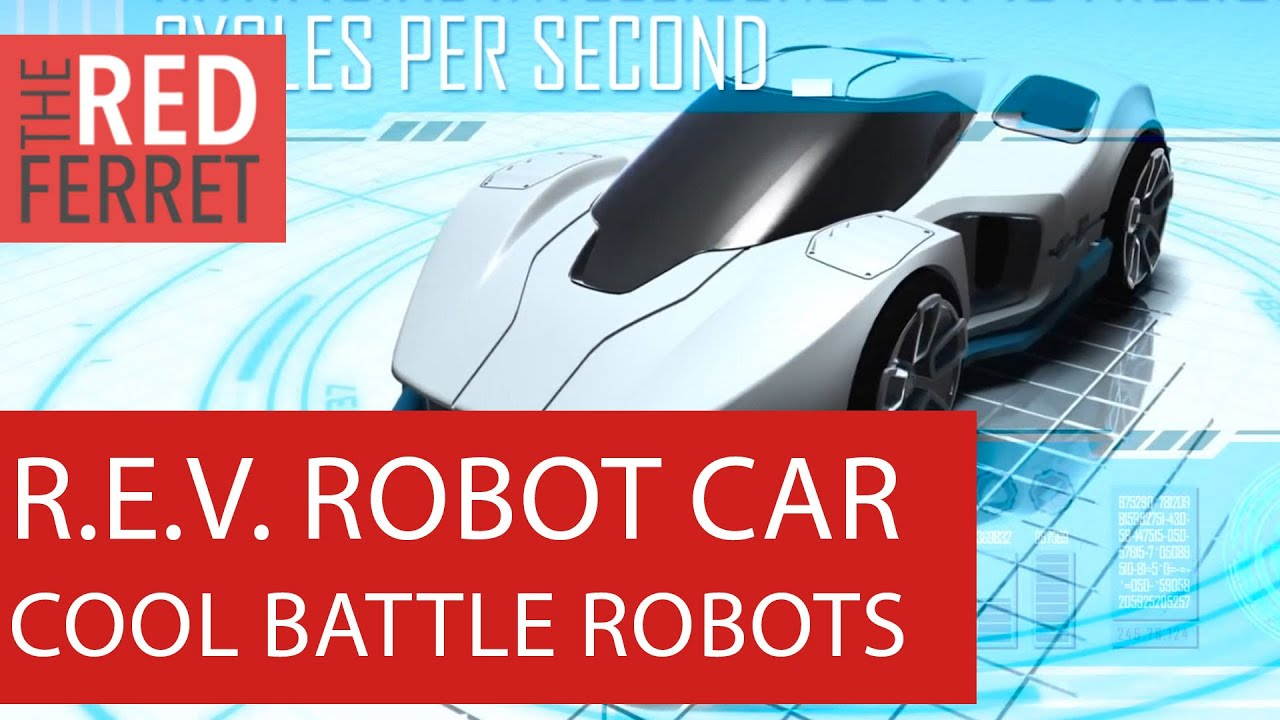 R E V Battle Cars Hands On With The Smart Car Robot Atude First Looks
