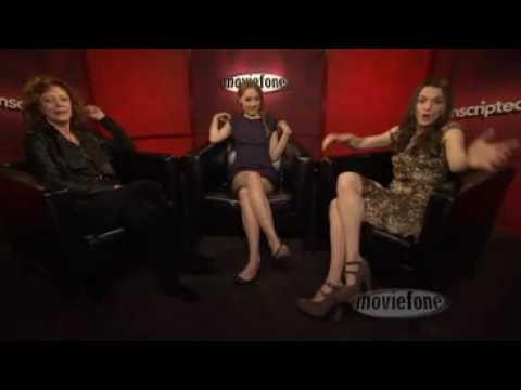 Unscripted: Saoirse Ronan, Rachel Weisz and Susan Sarandon