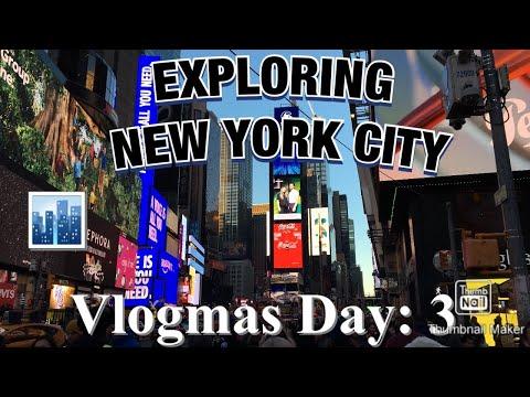 Exploring NY/Vlogmas day 3 Hannahs World