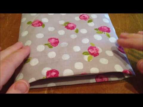 ~DIY: Make an easy bag/pouch for your tablet~