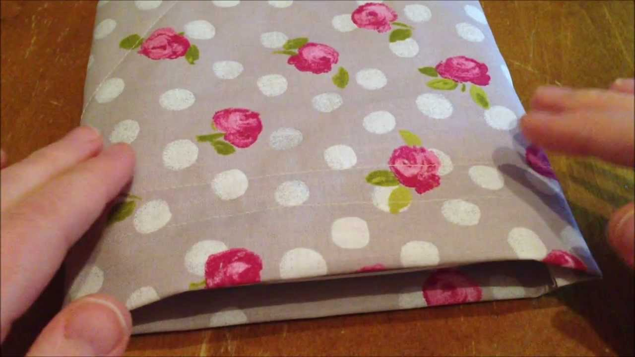 ~DIY: Make an easy bag/pouch for your tablet~ - YouTube