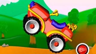 Мультфильм конструктор - Квадроцикл - детское приложение Build and Play