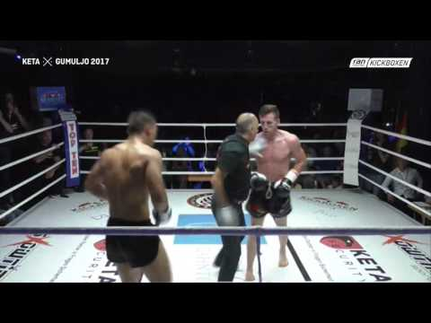 Ferit Keta vs Gumuljo Rochel - ISKA European Title Fight K1 2017