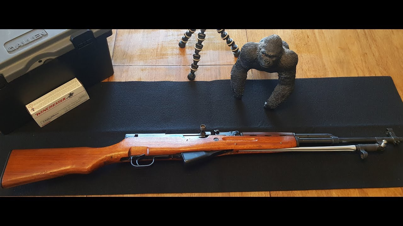 Norinco SKS Type 56; like shooting a stick of butter