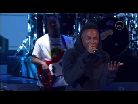 Kendrick Lamar: M.A.A.d City/Bitch Don't Kill My Vibe (NBA All-Star Performance 2014)