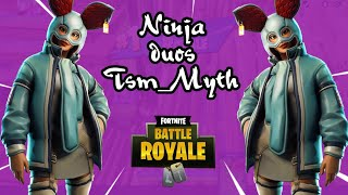 Ninja SS6 Duos TSM_Myth - New FlapJackie Skin Fortnite Battle Royale Game Play